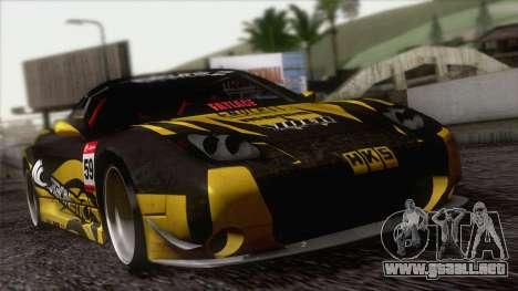 Acura NSX Miku Ghoul Itasha para vista lateral GTA San Andreas