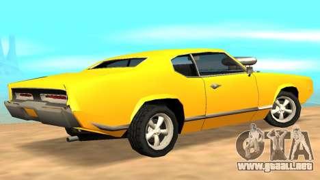 Sabre Charger para el motor de GTA San Andreas