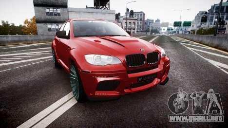 BMW X6 Tycoon EVO M 2011 Hamann para GTA 4