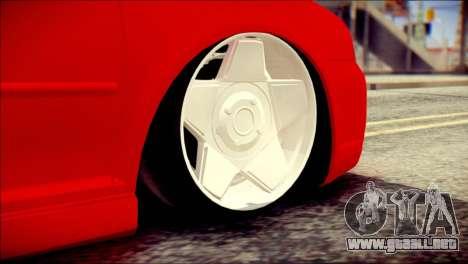 Volkswagen Golf R33 2015 para GTA San Andreas vista posterior izquierda