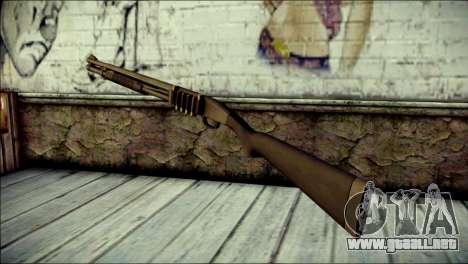 Mossber 590 para GTA San Andreas segunda pantalla
