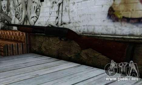 M37 Ithaca Long SS para GTA San Andreas segunda pantalla