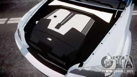 BMW X6 Tycoon EVO M 2011 Hamann para GTA 4 vista interior