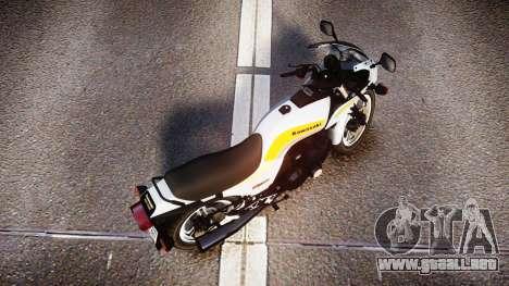Kawasaki GPZ1100 para GTA 4 visión correcta