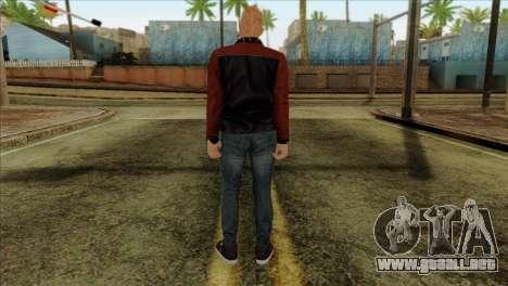 Skin 4 from Heists GTA Online DLC para GTA San Andreas segunda pantalla