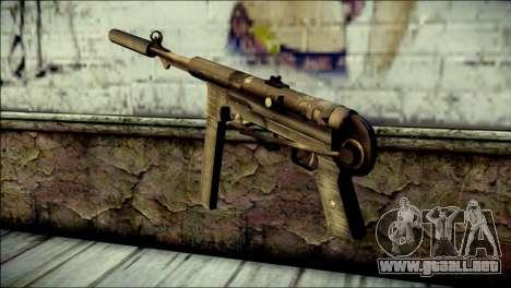 Silenced MP40 from Call of Duty World at War para GTA San Andreas segunda pantalla