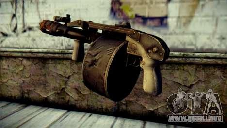 Rumble 6 Combat Shotgun para GTA San Andreas segunda pantalla