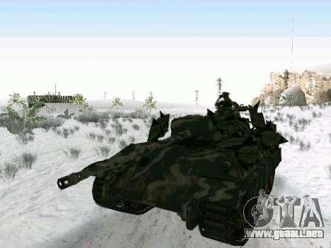 Panther para GTA San Andreas vista posterior izquierda