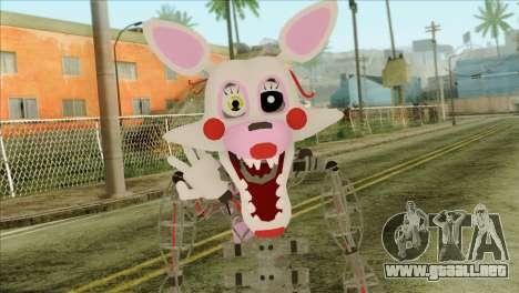 Mangle from Five Nights at Freddy 2 para GTA San Andreas tercera pantalla