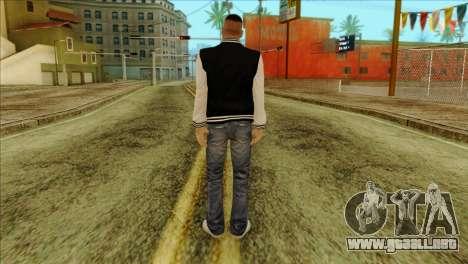 Luis Skin from GTA 5 para GTA San Andreas segunda pantalla