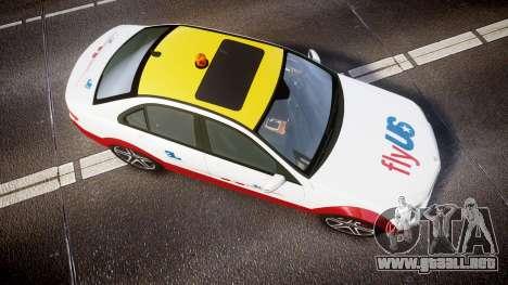 Mercedes-Benz C180 FlyUS para GTA 4 visión correcta