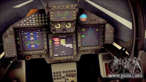 EF-2000 Typhoon  Federal Erusea Air Force para GTA San Andreas