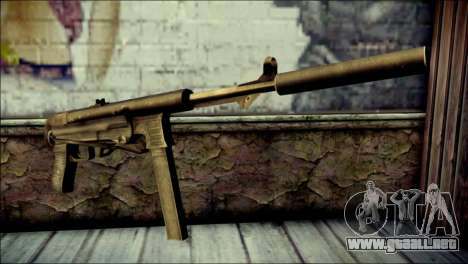 Silenced MP40 from Call of Duty World at War para GTA San Andreas