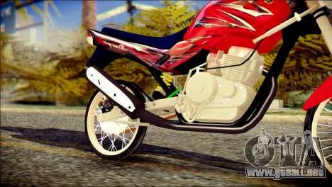 Yamaha Scorpio Z para la visión correcta GTA San Andreas