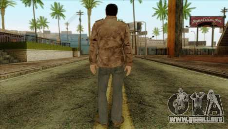 Classic Alex Shepherd Skin without Flashlight para GTA San Andreas segunda pantalla