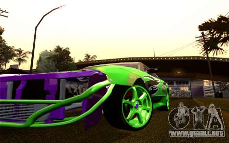 DGTK Elegy v1 para visión interna GTA San Andreas
