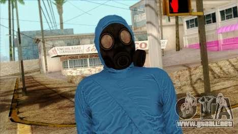 Skin 1 from Heists GTA Online DLC para GTA San Andreas tercera pantalla