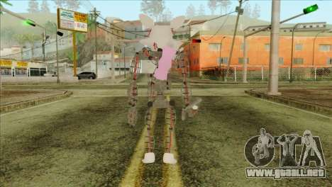 Mangle from Five Nights at Freddy 2 para GTA San Andreas segunda pantalla