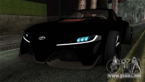 Toyota Supra FT v2 para GTA San Andreas