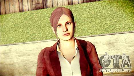 Claire Redfield from Resident Evil para GTA San Andreas tercera pantalla