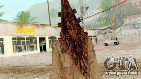Bogeyman Alex Shepherd Skin para GTA San Andreas tercera pantalla