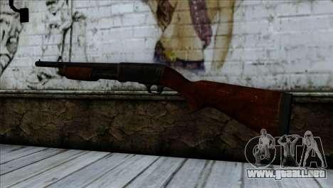 M37 Ithaca para GTA San Andreas segunda pantalla