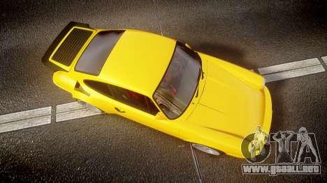 RUF CTR Yellow Bird para GTA 4 visión correcta