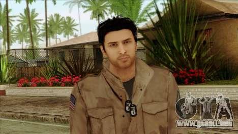 Classic Alex Shepherd Skin without Flashlight para GTA San Andreas tercera pantalla