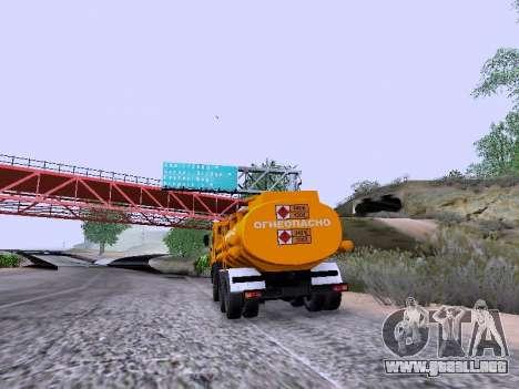 KamAZ 53212 para GTA San Andreas left