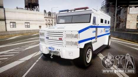 GTA V Brute Police Riot [ELS] skin 4 para GTA 4
