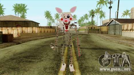 Mangle from Five Nights at Freddy 2 para GTA San Andreas