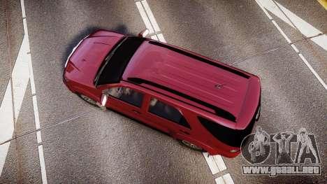 Toyota Hilux SW4 2015 para GTA 4 visión correcta