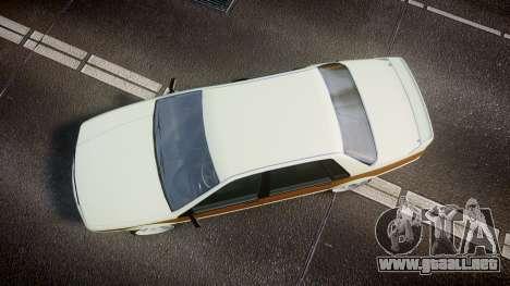 Albany Primo Camber Tuned para GTA 4 visión correcta