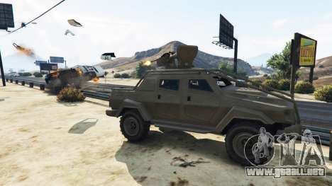 GTA 5 Control Heist Vehicles Solo v1.3 tercera captura de pantalla