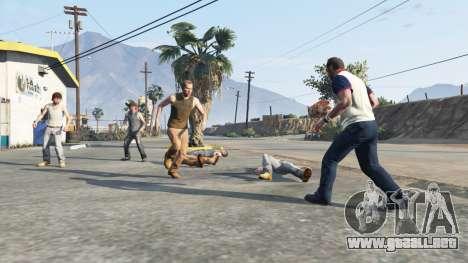 Hostil Pedy para GTA 5