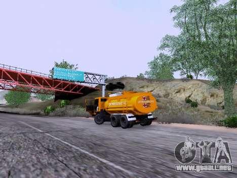 KamAZ 53212 para GTA San Andreas vista hacia atrás