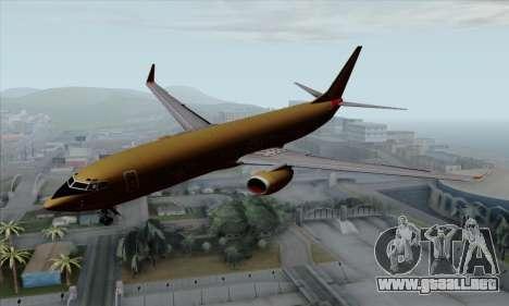 Boeing 737-800 Southwest Gold para GTA San Andreas