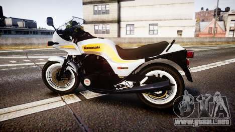 Kawasaki GPZ1100 para GTA 4 left