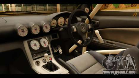 Nissan Silvia S15 Kagamine Rin Itasha para la visión correcta GTA San Andreas