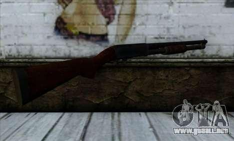 M37 Ithaca Long para GTA San Andreas segunda pantalla