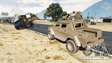 GTA 5 Control Heist Vehicles Solo v1.3 segunda captura de pantalla