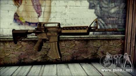 Rumble 6 Assault Rifle para GTA San Andreas