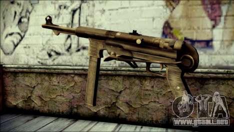 MP40 from Call of Duty World at War para GTA San Andreas segunda pantalla