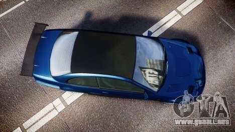 Ubermacht Sentinel STD Sport para GTA 4 visión correcta