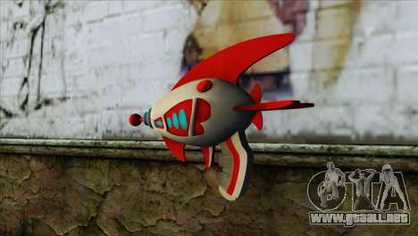 Dead Or Alive 5 LR Kasumi Fighter Force Gun para GTA San Andreas segunda pantalla