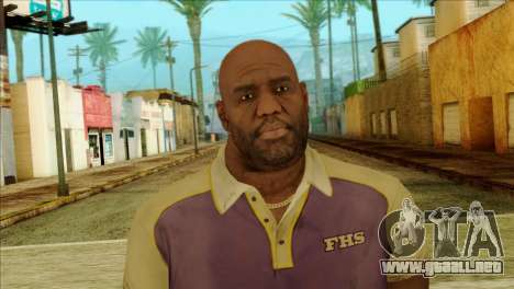 Coach from Left 4 Dead 2 para GTA San Andreas tercera pantalla