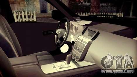 Mitsubishi Pajero Sport Dakar para la visión correcta GTA San Andreas
