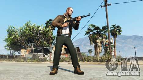 GTA 5 Niko Bellic tercera captura de pantalla