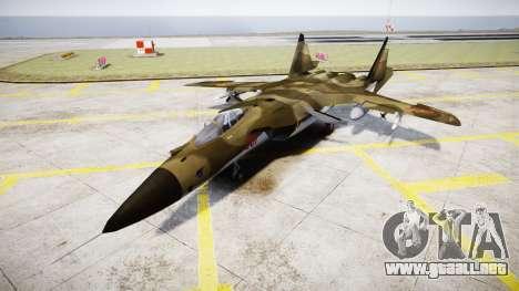 Su-47 Berkut bosque para GTA 4