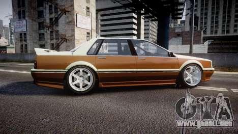 Albany Primo Camber Tuned para GTA 4 left